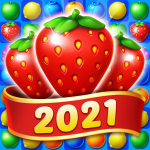 Fruit Diary – Match 3 Games Without Wifi MOD Unlimited Money 1.23.1