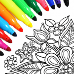 Mandala Coloring Pages MOD Unlimited Money 15.6.8