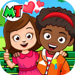 My Town Best Friends House games for kids MOD Unlimited Money 1.06