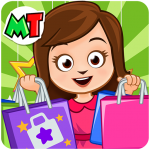 My Town Shopping Mall – Shop Dress Up Girl Game MOD Unlimited Money 1.12