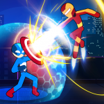 Stickman Fighter Infinity – Super Action Heroes MOD Unlimited Money 1.1.3