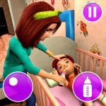 Virtual Mother Game Family Mom Simulator MOD Unlimited Money 1.35