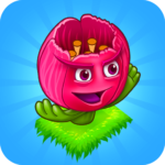 Blooming Flowers Merge Flowers Idle Game MOD Unlimited Money 1.4.0