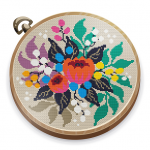 Cross Stitch Club Color by Numbers with a Hoop MOD Unlimited Money 1.4.32