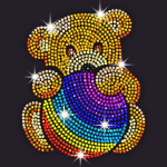 Diamond Coloring – Sequins Art Paint by Numbers MOD Unlimited Money 1.5.0
