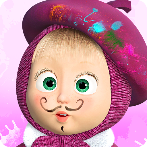Masha and the Bear Free Coloring Pages for Kids MOD Unlimited Money 1.7.2