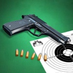 Pistol shooting at the target. Weapon simulator MOD Unlimited Money 4.8