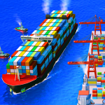 Sea Port Ship Transport Tycoon Business Game MOD Unlimited Money 1.0.162