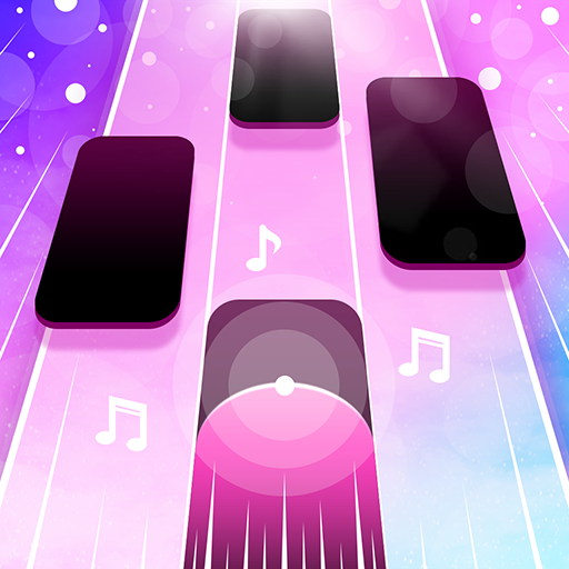 Magic Pink Tiles Piano Game MOD Unlimited Money 1.0.4