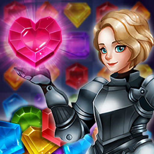 Magical Jewels of Kingdom Knights Match 3 Puzzle MOD Unlimited Money 1.9.0