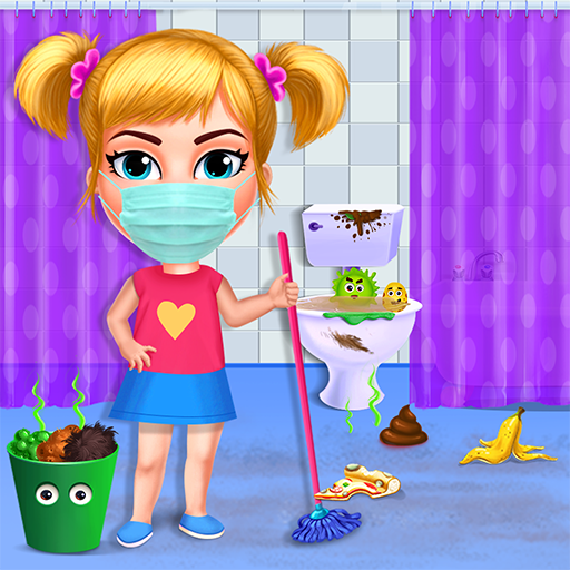 Big Home Makeover – House Cleaning Game for Girls MOD Unlimited Money