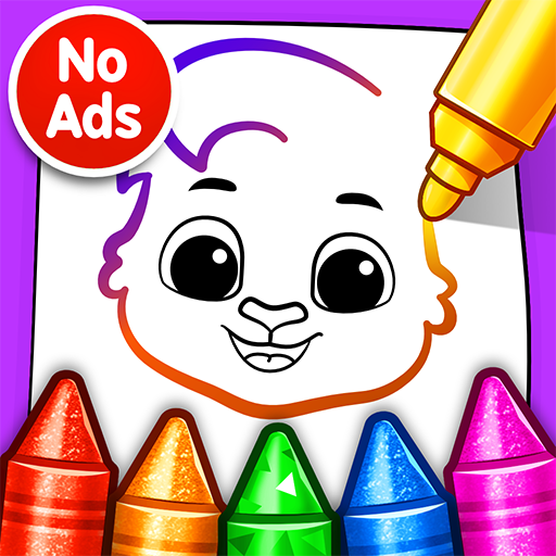 Drawing Games Draw Color For Kids MOD Unlimited Money