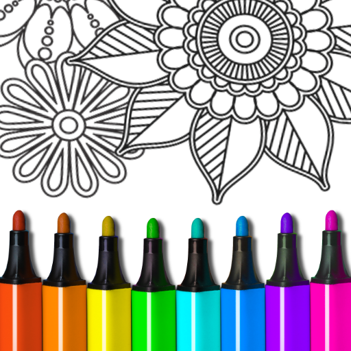 Coloring Book for Adults MOD Unlimited Money 8.2.0