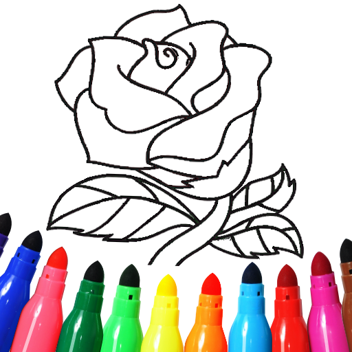 Valentines love coloring book MOD Unlimited Money 16.2.6