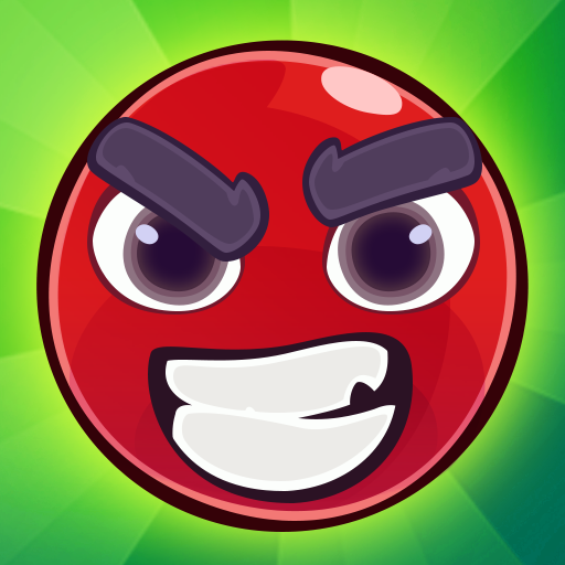 Red Bounce Ball Jumping and Roller Ball Adventure MOD Unlimited Money