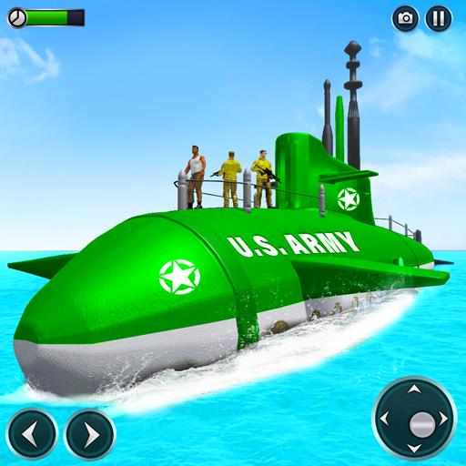 US Army Submarine Driving Military Transport Game MOD Unlimited Money