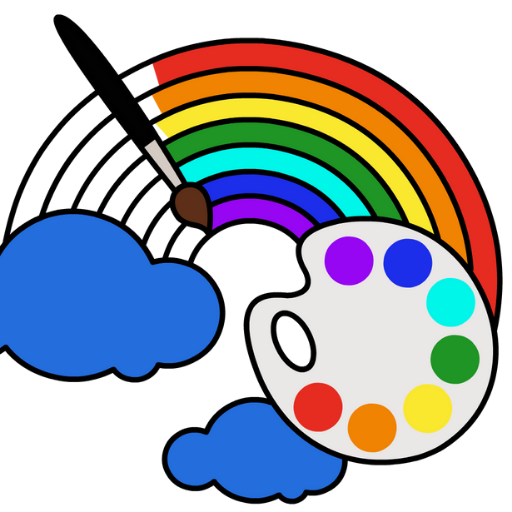 Coloring Games for Kids – Drawing Color Book MOD Unlimited Money