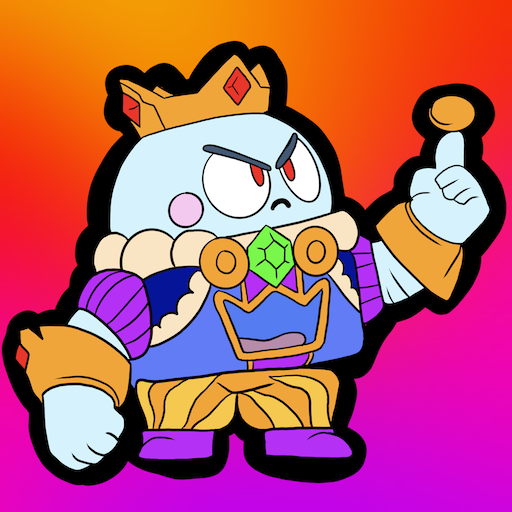 Coloring Pages for Brawl BS MOD Unlimited Money