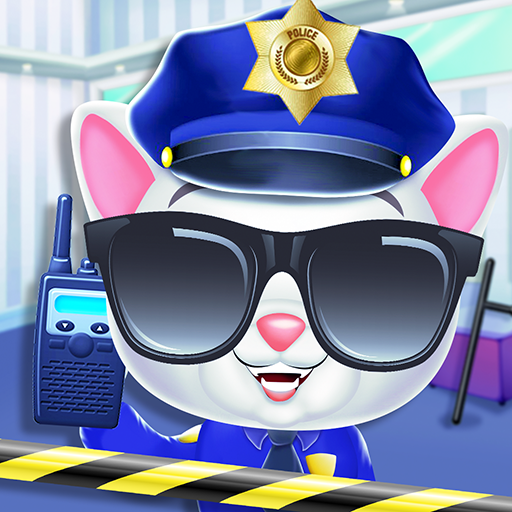 Kitty Cat Police Fun Care Thief Arrest Game MOD Unlimited Money