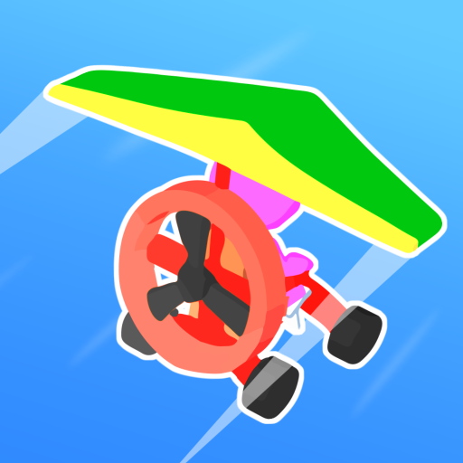 Road Glider – Flying Game MOD Unlimited Money