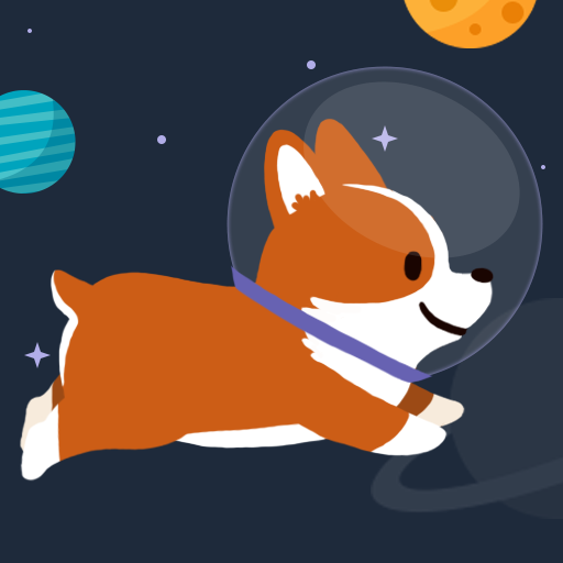 Space Corgi – Dog jumping space travel game MOD Unlimited Money