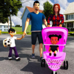 Virtual Mother Life Simulator – Baby Care Games 3D MOD Unlimited Money