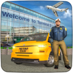 Modern Taxi Driving Game City Airport Taxi Games MOD Unlimited Money